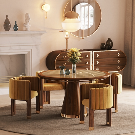 TOP 5 LUXURY DINING TABLES