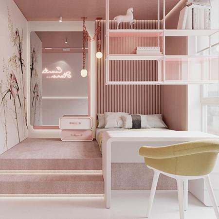Interior Design Project: Girl´s Bedroom