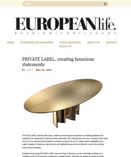 EUROPEAN life Magazine