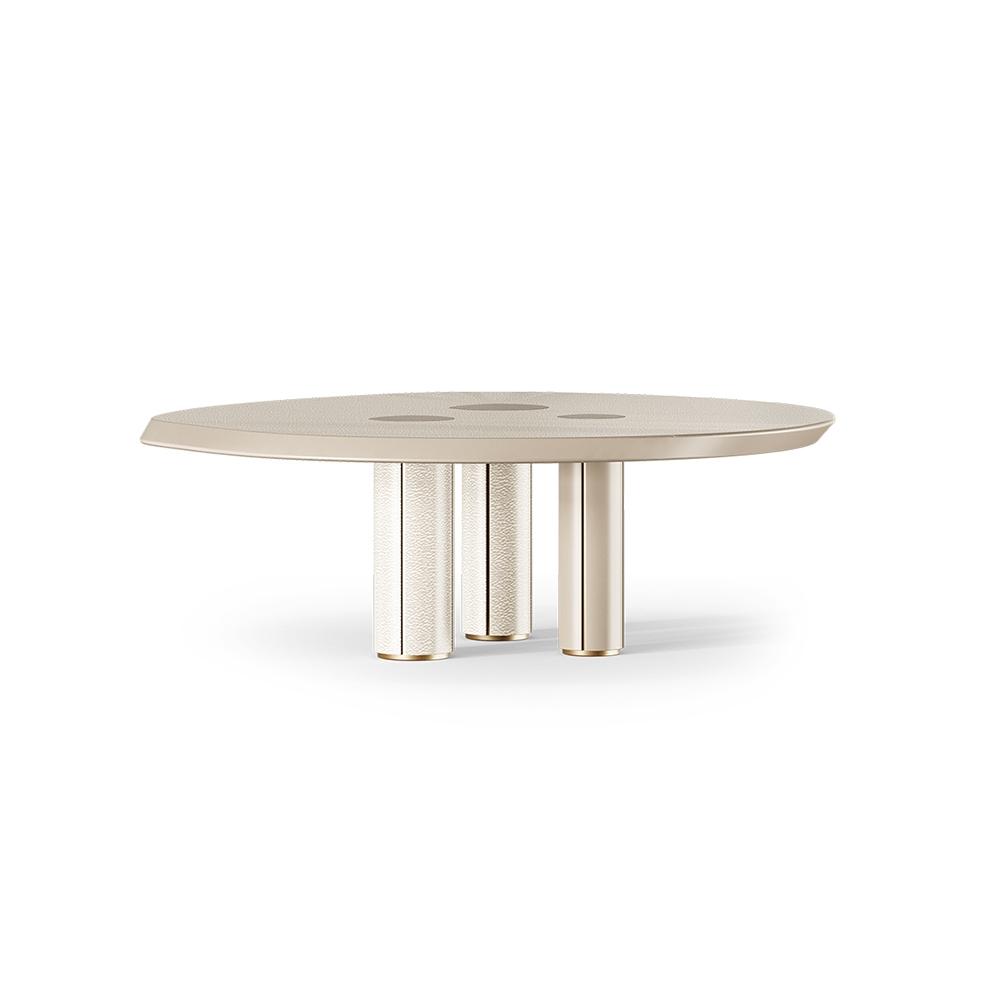 Quiver Center Table Walnut